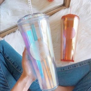 Starbucks Iridescent Dome Tumbler in Gold 2020